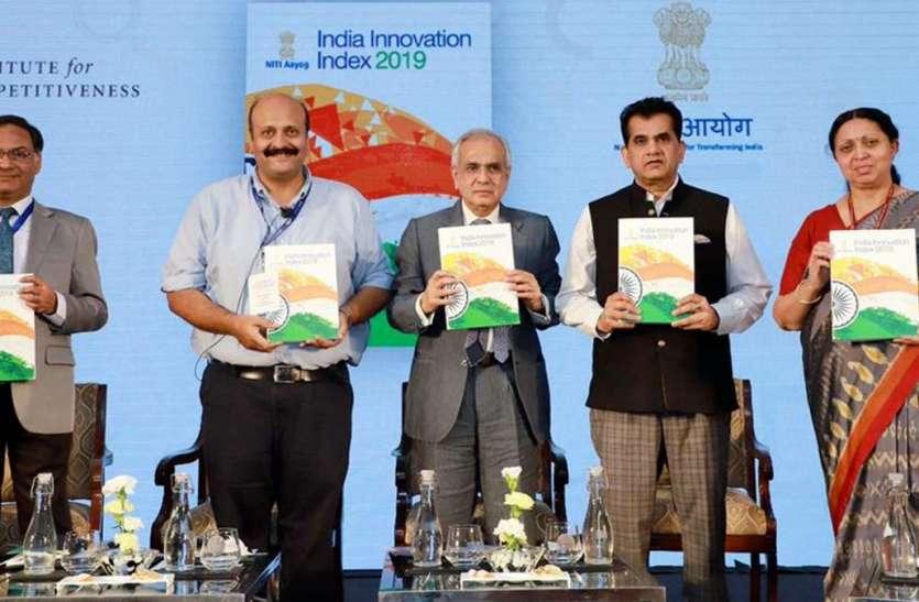कर्नाटक को नवाचार में पहला स्थान