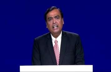 मुकेश अंबानी का बड़ा ऐलान, Jio की सभी सेवाएं हिंदी में भी उपलब्ध होंगी