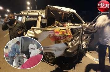 Road Accident : सोजत के बागावास के निकट ट्रोले में घुसी अखबार सप्लाई की वैन, हादसे में चालक की मौत