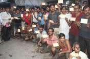textile news- लिंबायत के वीवर्स और कपड़ा श्रमिक ने पांच सौ पत्र लिखे