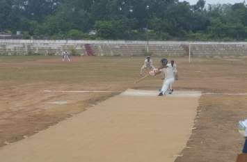 नगर परिषद बालाघाट और पुलिस बालाघाट ने जीता मैच