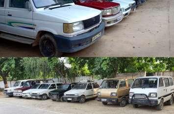 कानपुर के वीआईपी इलाके से चार पहिया वाहन की करते थे चोरी, बेचते थे पुर्जा पुर्जा, दो क्वालिस सहित आठ वाहन बरामद