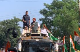 पंजाब: उपचुनाव प्रचार के लिए सीएम कैप्टन अमरिंदर सिंह ने निकाला रोड शो