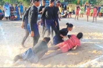 जैतपुर कस्तूरबा विद्यालय की छात्राओं ने मारी बाजी