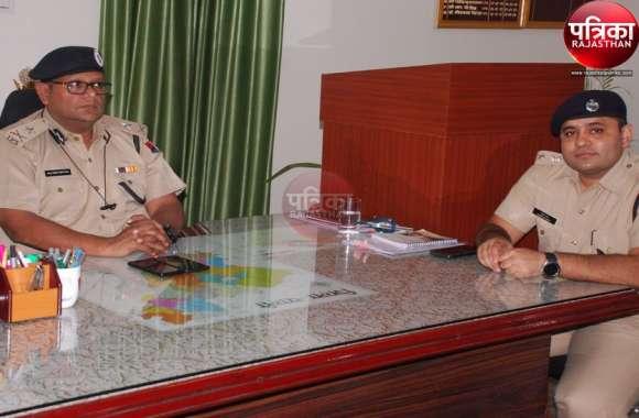 VIDEO : जोधपुर रेंज के आइजी मित्तल ने ली अधिकारियों की बैठक, बोले : त्योहार पर सजग रहें पुलिस