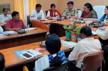 महिला कल्याण की योजनाओं में बहाना नही परिणाम चाहिए-प्रमुख सचिव आराधना शुक्ला