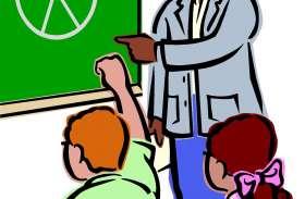 कक्षा तीन के छात्र नहीं पढ़ पाए हिंदी