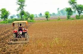 सोयाबीन, उड़द की फसलें हुईं नष्ट, लागत न निकलने से किसान चला रहे खेत में टै्रक्टर