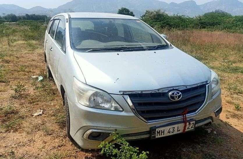 अनापुर के पास टेम्पो रुकवाकर लूटा, अधमरा कर चालक को जंगल में छोड़ा