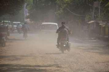 गड्ढे भरे तो उडऩे लगी धूल, एक के समाधान से उपजी दूसरी समस्या
