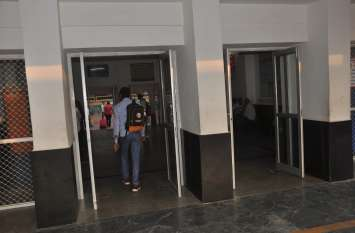 स्टेशन पर स्कैनर मशीन न तीसरी आंख, सुरक्षा को लेकर उठ रहे सवाल!