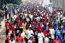 दिल्ली की सड़कों पर दौड़े एक साथ 40,000 लोग, वजह जान आपको होगा गर्व