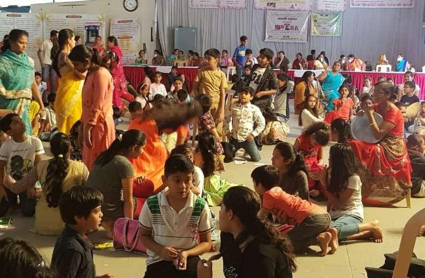महावीर धर्मशाला में बाल संस्कार शिविर