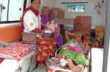 करोड़ों के अस्पताल पर भारी पड़ रही एम्बुलेंस में मुफ्त डिलीवरी