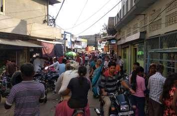 दीपावली नजदीक बाजारों में बढ़ी चहल-पहल