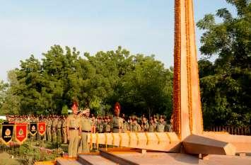 सीमा सुरक्षा बल ने मनाया पुलिस स्मृति दिवस