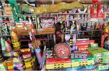 मुंगेली में यहाँ लगेगी फटाकों की दुकान, किया गया निरीक्षण आज होगा आवंटन
