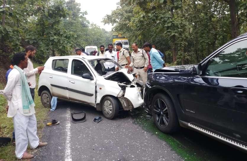 इंदौर से नागपुर जा रही हंस ट्रेवल्स की बस पलटी, कई यात्री घायल