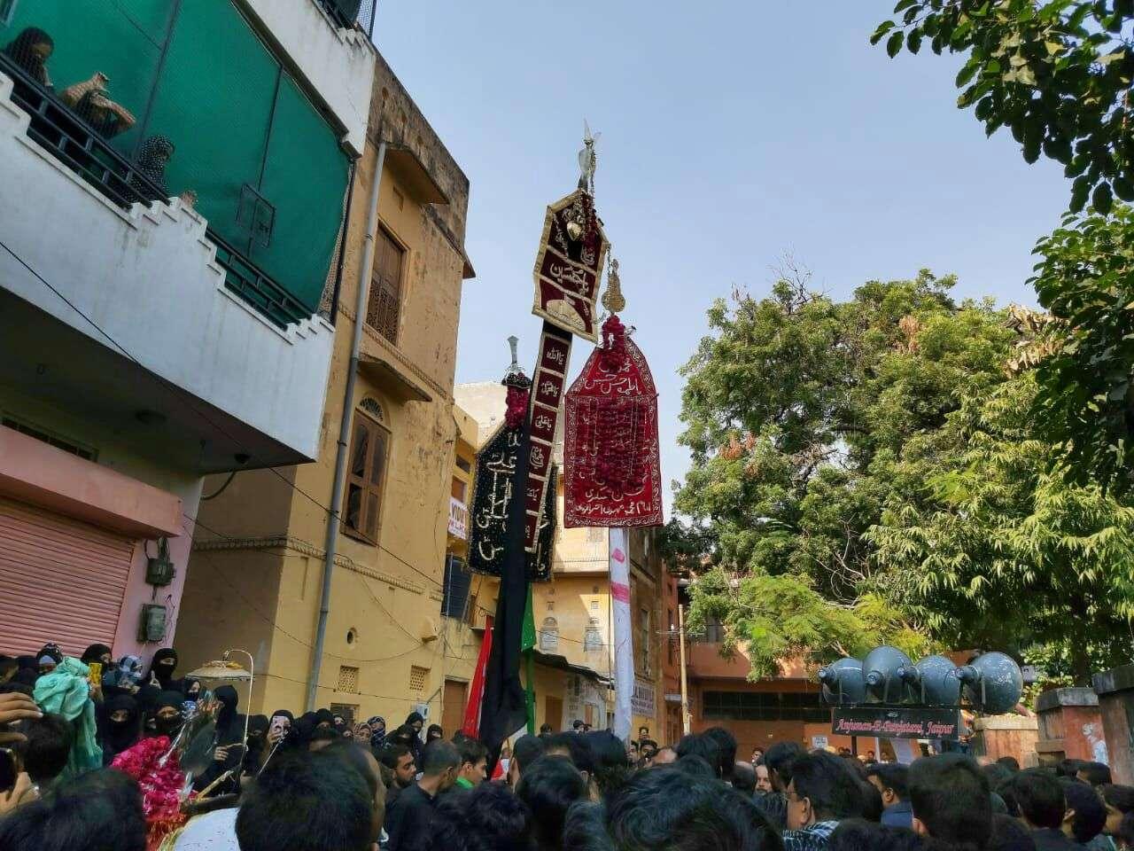 Shia Community Matam In Jaipur : shia matam in karbala