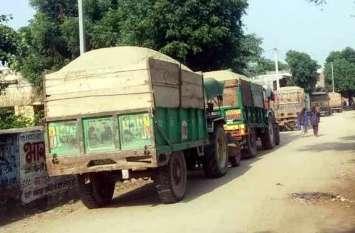 बजरी के अवैध परिवहन में लिप्त 16 जनों को न्यायालय ने भेजा जेल