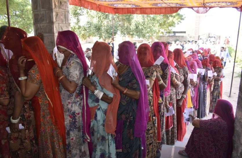 मूण्डवा पंचायत समिति की 7 ग्राम पंचायतों में आज मतदान
