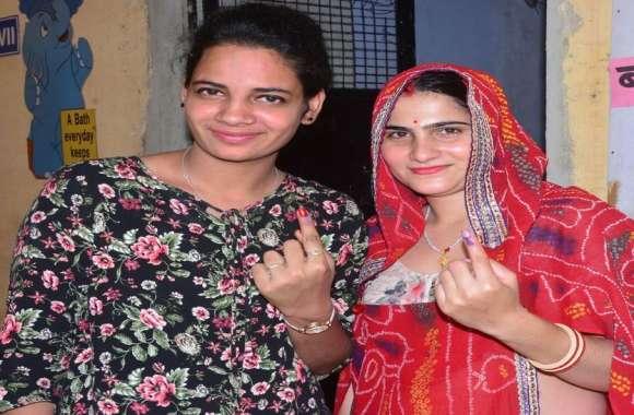उप चुनाव:मंडावा में 5 बजे तक 67 फीसदी मतदान