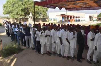 खींवसर विधानसभा उप चुनाव : मतदान को लेकर लोगों में जबरदस्त उत्साह