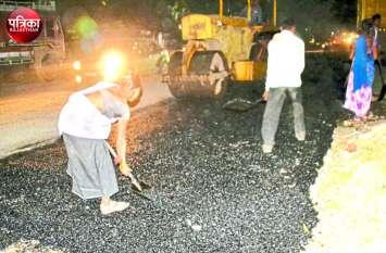बांसवाड़ा : आखिरकार दाहोद मार्ग पर जानलेवा गड्ढ़ों और धूल के गुबार से मिलेगी राहत, सडक़ निर्माण कार्य शुरू