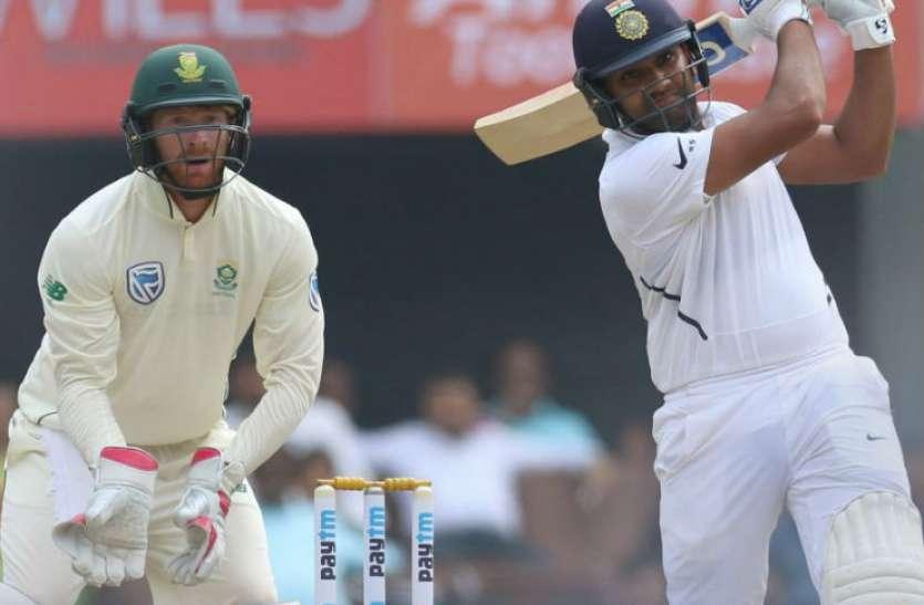 हिटमैन रोहित ने धोनी को छोड़ दिया पीछे, सबसे कम टेस्ट पारियों में जड़े सबसे ज्यादा छक्के