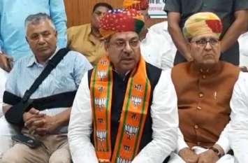 भाजपा प्रदेशाध्यक्ष पूनिया ने सीएम गहलोत पर साधा निशाना, कहा अपने बेटे को सेट करने में लगे हैं बस