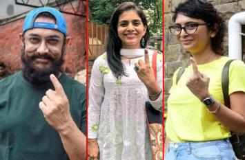 महाराष्ट्र चुनाव: ऋतिक, माधुरी, हेमा, पद्मिनी और लारा सहित इन सितारों ने किया मतदान