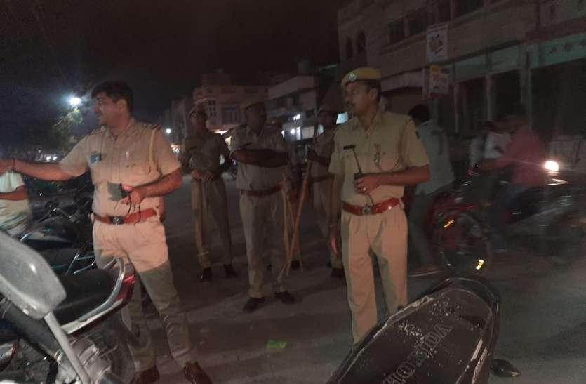 ताकि दीपोत्सव पर रहे शांति, चप्पे-चप्पे पर तैनात पुलिस