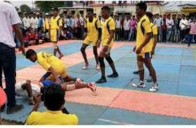 मंडला ने जीता कबड्डी का फाइनल, नैनपुर रही उपविजेता