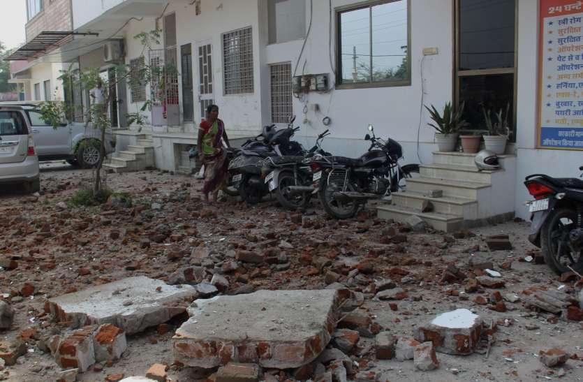 निजी अस्पताल में निर्माणाधीन हिस्से की छत गिरी, श्रमिक की मौत