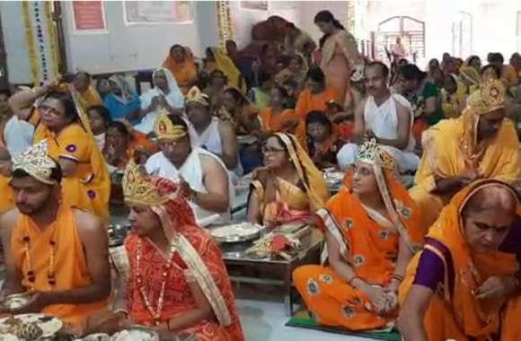 बांसवाड़ा : मुनि प्रतीकसागर के 39वें जन्म जयंती महोत्सव का आगाज, आज 108 दीपकों से होगी महाराज की महाआरती