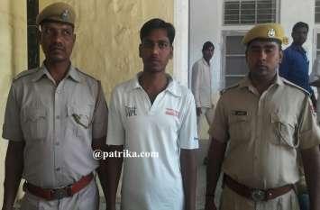10 वर्ष के कठोर कारावास व 35 हजार रुपये के अर्थदण्ड की सजा सुनाई