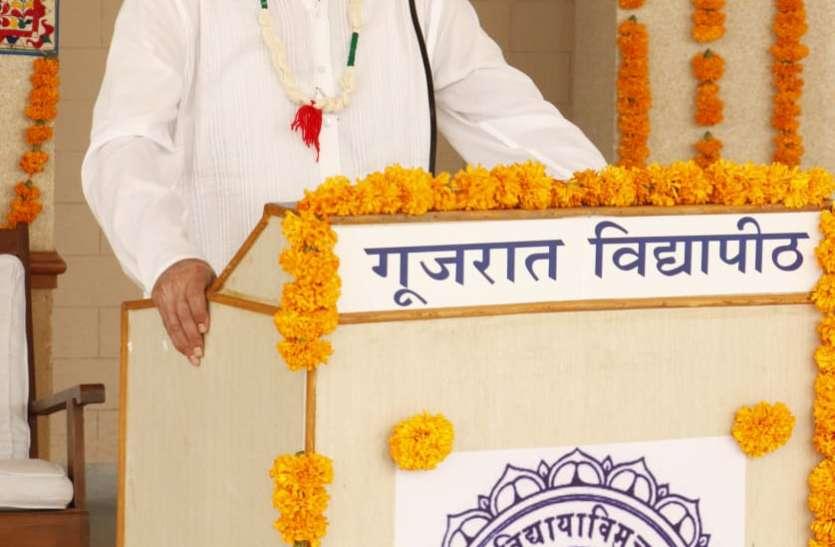 इस जाने माने Industrialist ने Gujarat Vidyapith के विद्यार्थियों से कही यह बात