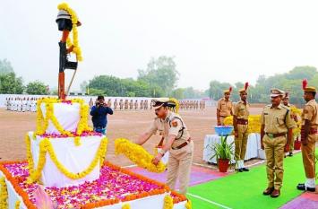 पुलिस शहीद दिवस : साहस, सम्मान और शौर्य की दिखी झलक...