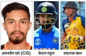 विजय हजारे ट्रॉफी : छत्तीसगढ़ का टूटा सपना, सेमीफाइनल में कर्नाटक ने 9 विकेट से पीटा, कर्नाटक और तमिलनाडु के बीच अब खिताबी जंग