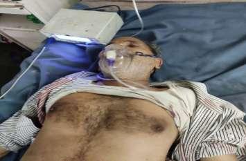 Breaking  : SBI बैंक कैंपस में मुनीम को बदमाशों ने गोली मारी, 4.5 लाख लूटकर फरार, देखें वीडियो