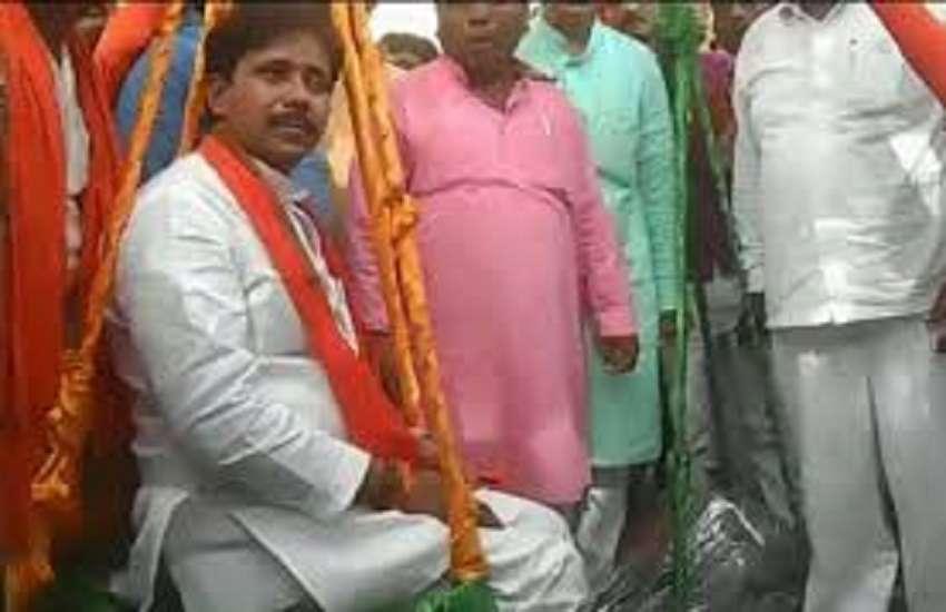 Minister Anil Rajbhar