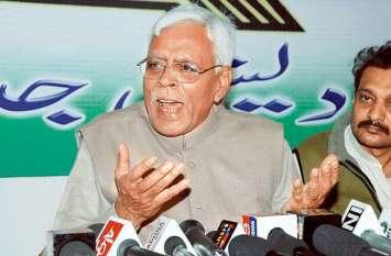 RJD को सबसे बड़ा झटका, वरिष्ठ नेता शिवानंद तिवारी ने राजनीति को कहा अलविदा