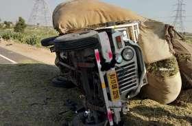 बीकानेर के महाजन के पास तीन गाड़िया टकराई, दो की मौत