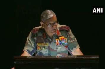 आर्मी चीफ बिपिन रावत की पाकिस्तान को सख्त चेतावनी, अल्टीमेट मिशन पाने से कोई नहीं रोक सकता