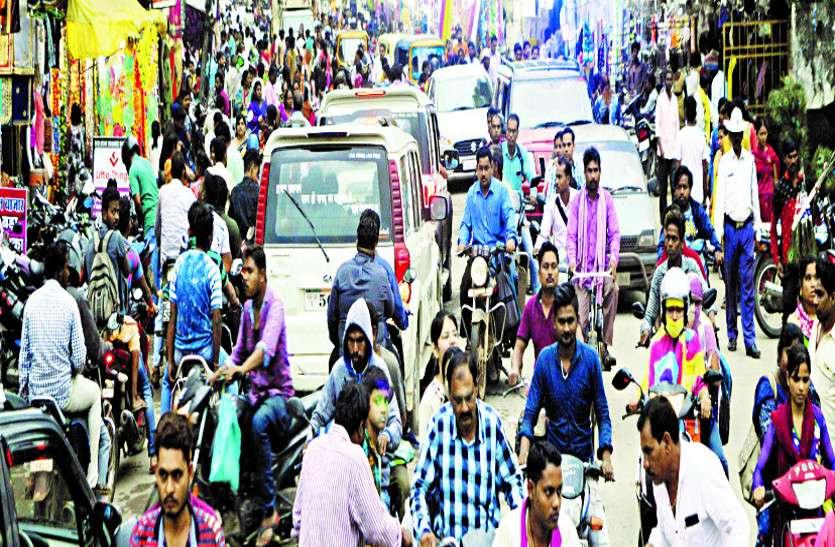 आटोमोबाइल, रियल स्टेट, ज्वेलरी शॉप सहित अन्य बाजार में 50 करोड़ रुपए के कारोबार का अनुमान