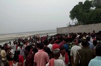 मूर्ति विसर्जित करने गये छह युवक नदी में डूबे, तीन शव को पुलिस ने बरामद किया