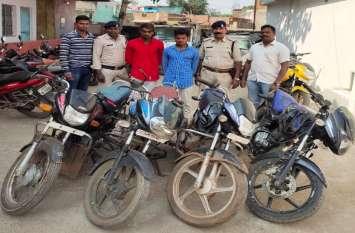 चोरी की बाइक से युवक रात में जा रहा था गांव, पेट्रोलिंग टीम ने पकड़ा तो उड़ गए होश, फिर पुलिस ने इतने बाइक और किए बरामद