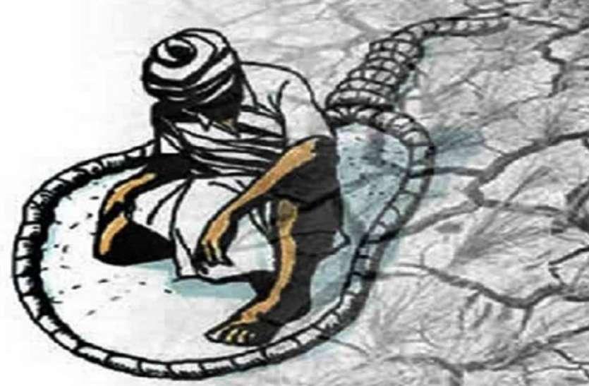 छत्तीसगढ़: किसान ने खेत में फांसी लगाकर की आत्महत्या, फसल खराब होने से था परेशान