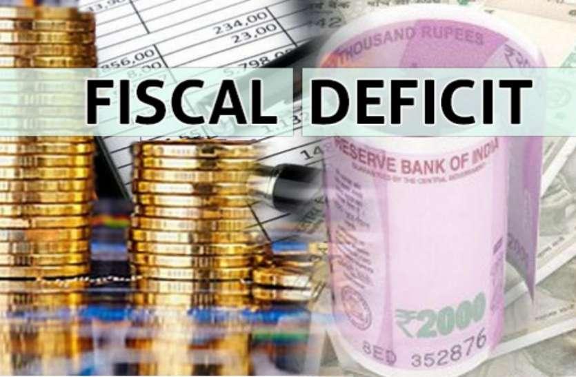 मोदी सरकार को लगा बड़ा झटका, छह महीने में 93 फीसदी पहुंचा वित्तीय घाटा