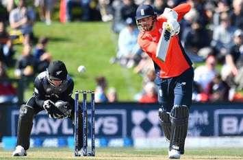 T-20: इंग्लिश टीम का धमाकेदार आगाज, न्यूजीलैंड को पहले मैच में धोया